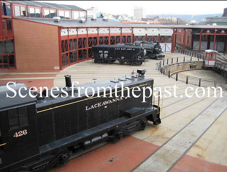 steamtown turntable